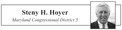 Steny H. Hoyer, Maryland Congressional District 5